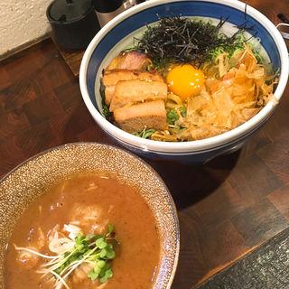 濃厚豚骨魚介つけ麺(麺や 庄の)