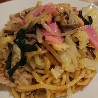 長崎皿うどん太麺(厨酒房ぱんどら)
