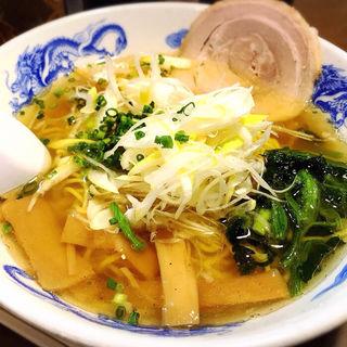 魚塩らーめん(麺屋亥龍 (いりゅう))