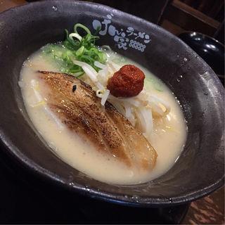 豚骨醤油ラーメン(げん家ラーメン 天六国分寺店)