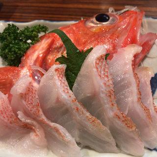 キンキの刺身(大衆居酒屋魚さんこ )
