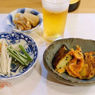 丸茄子と桜海老(ひろ作 (ひろさく))