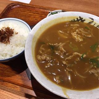 カレーそば(江戸堀 武蔵野)