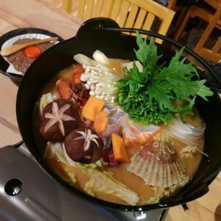 漁師鍋(ジャンボ釣船 つり吉 難波店  )