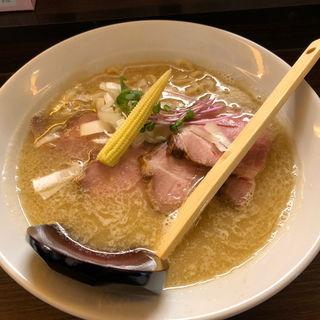 三種の味噌ラーメン(麺処 田中(仮))