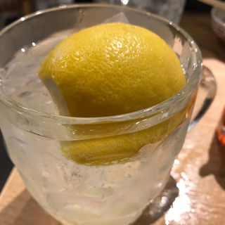 檸檬フィズ(餃子のたっちゃん 天神西通り店)