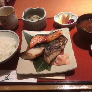 チューボーおまかせ味くらべ鈴波定食(鈴波中部国際空港店 (スズナミ))