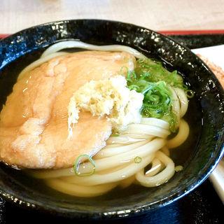 きつねうどん(かけそのまま+お揚げ)(こだわり麺や 高松郷東店)