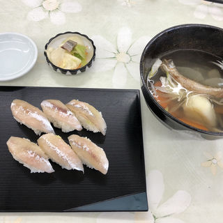 ししゃも寿司(カネダイ大野商店)