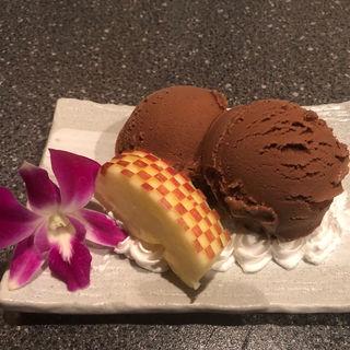 チョコレートアイス(京海鮮和食 蔵ノ庄 河原町 )