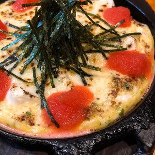 豆腐明太チーズ鉄板(串かつ ようこそ )