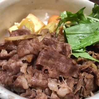 神戸牛 すき焼き丼(銀座むらき (ぎんざむらき))