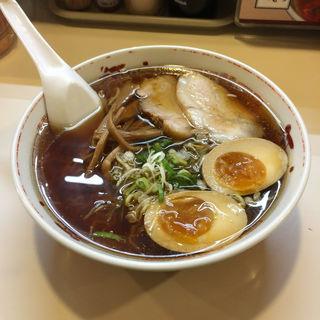 昔風ラーメン(醤油・塩)(河むら 釧路本店 )