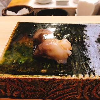 トリ貝の握り(匠鮨おわな)
