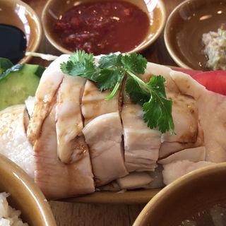 海南鶏飯(蒸し)(シンガポール海南鶏飯 水道橋店 (ハイナンチーファン))