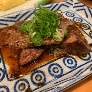 牛肉レバー焼き(満ぞく屋 (まんぞくや))