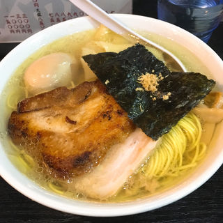 塩玉そば(桑ばら (【旧店名】まるきゅうらあめん))