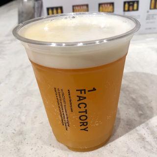 みかんビール(10ファクトリー 銀座店)