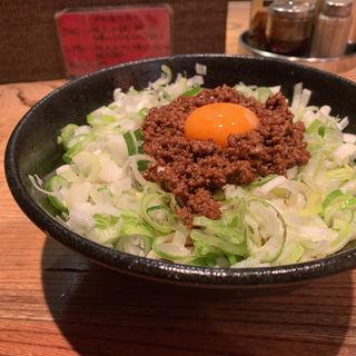 汁なし坦々麺(麻布麺房どらいち)