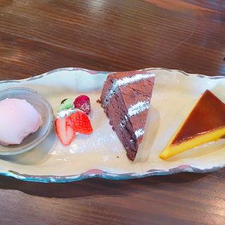 デザート4品盛り合わせ(益子の茶屋 )
