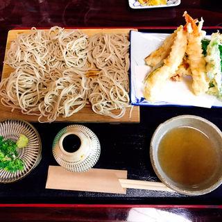 板蕎麦 天麩羅(庄屋 )
