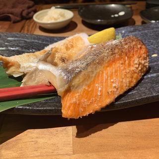 鮭ハラス原始焼き(きばらし 三軒茶屋本店 )