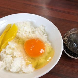 卵ごはん(六三ラーメン)