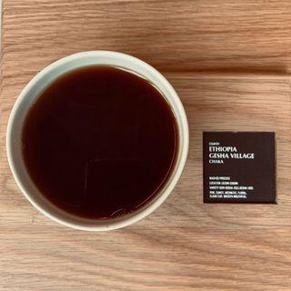 エチオピア ゲシャ^_^ビレッジ(Leaves Coffee Roasters(リーブス コーヒー ロースターズ))