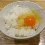 卵かけご飯(肉山 本八幡)