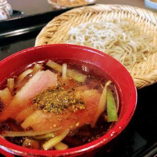 鴨汁蕎麦(かね井 (かねい))