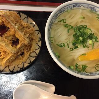 ゴボウ天うどん(恵味うどん)