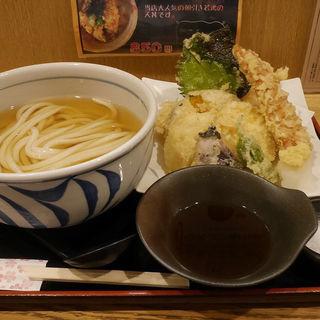 ひやかけの天ぷらセット(うどん和匠 )