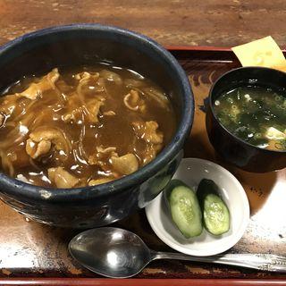 カツカレー丼(泰明庵)