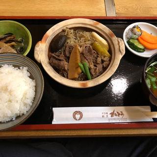 すき焼膳(すき焼き・割烹 かとう (かとう))