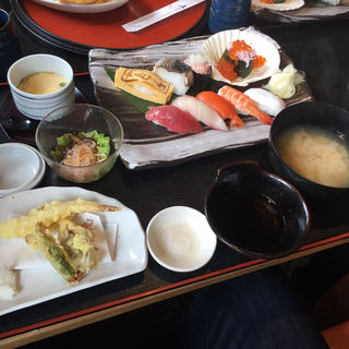 がんこにぎり寿司御膳(がんこ家 笠原店 (がんこや))