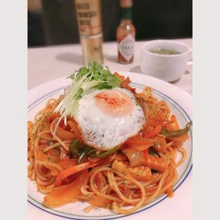 ナポリタンスパゲッティ(Cafe Lunch Jun (カフェ ランチ ジュン))