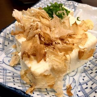 冷奴(炭火 串焼きボンちゃん)