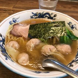 ワンタン麺(松波ラーメン店)