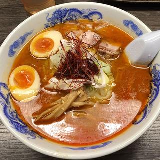 味玉味噌ラーメン(さっぽろ純連 札幌本店)