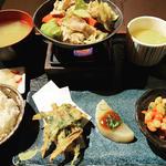 近江野菜おばんざい石炙り焼き日替わり御膳(花殿 梅田茶屋町 )