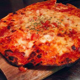 ピッツァ トマトチーズ(てんてけてん 栃木小山店)