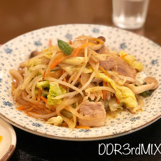 肉野菜定食(美好屋 )