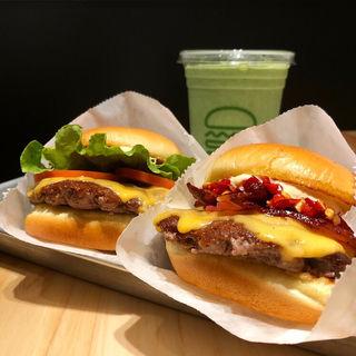 Shack Burger(Double)(シェイクシャック 京都四条烏丸)