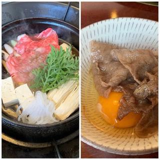 米沢牛 百年のすき焼きコース 松(ロース)