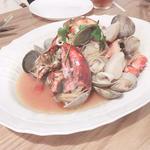 イタリアのブイヤベース魚介のごった煮