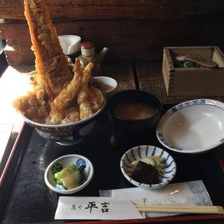 天丼 上盛(葱や平吉 高瀬川店 (ねぎやへいきち))
