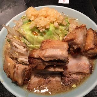 大麺豚W(たいめん ブタダブル)(らぁめん大山 川崎店)