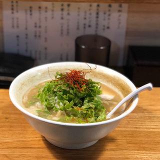 ポルチーニ茸鶏白湯(麺匠 ようすけ 鶏煮亭)