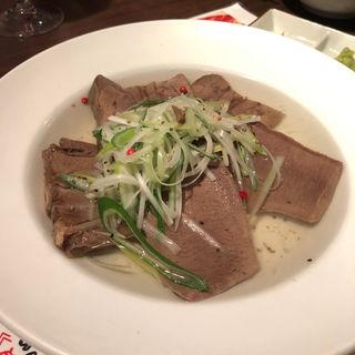 ゆで牛タン(牛たんの一仙 (ぎゅうたんのいっせん))