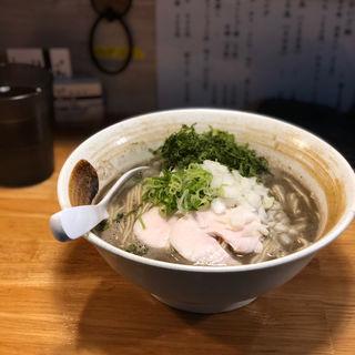 烏賊鶏白湯(麺匠 ようすけ 鶏煮亭)